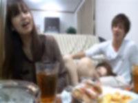 大学生の飲み会で撮影された生々しいSEX映像流出!!
