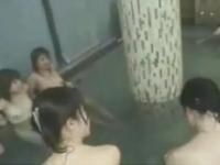 修学旅行で女風呂を冗談半分で撮影した動画が流失w