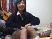 【盗撮】部活で健康的に日焼けした浅尾美和似の美乳娘!