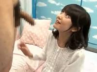 童貞クンにSEXを教える可愛い素人娘