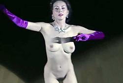 杉本彩、全部丸出しで裸踊りした過去…。伝説の全裸社交ダンス(画像あり)